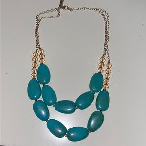 Limited Teal Stone Necklace